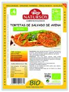 TORTITAS DE SALVADO DE AVENA NATURAL 240 gr